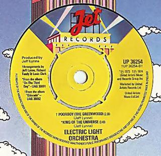 Poor Boy (The Greenwood) 1977 song performed by Electric Light Orchestra