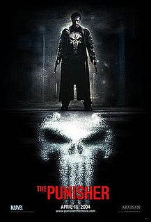 <i>The Punisher</i> (2004 film) 2004 American comic book action film directed by Jonathan Hensleigh