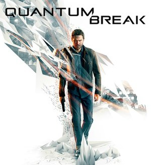 Quantum Break - Promotional cover of Quantum Break featuring the game's protagonist, Jack Joyce