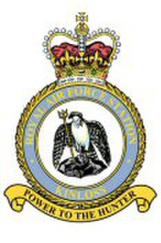 RAF Kinloss - Power to the Hunter