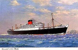 SS Lavia - Image: RMS Media