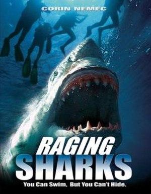 Raging Sharks - DVD cover
