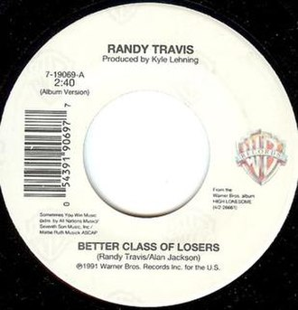 Better Class of Losers - Image: Randy Travis Better Class of losers