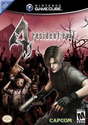 Resident Evil 4 - North American GameCube cover art