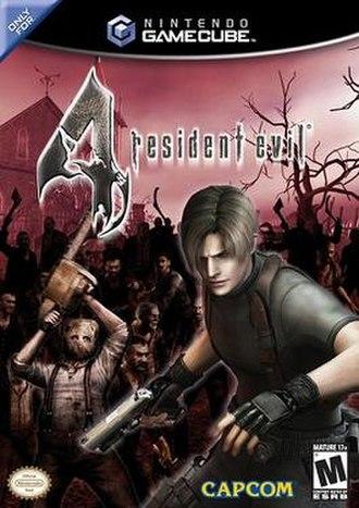 Resident Evil 4 - North American GameCube cover art