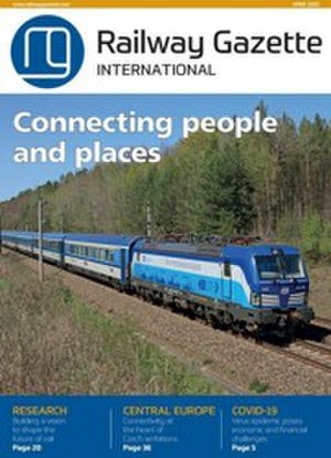 Railway Gazette International - Cover, May 2009