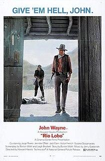<i>Rio Lobo</i> 1970 film by Howard Hawks