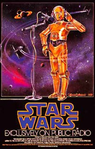 Star Wars (radio) - NPR Star Wars Radio Series promotional poster