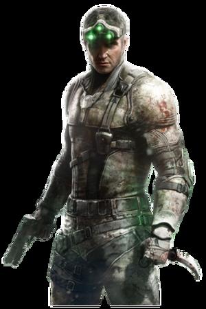 Sam Fisher (Splinter Cell) - Image: Sam Fisher SBL