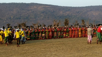 Santal people - A traditional Santali dance
