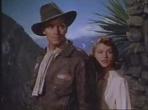 Secret of the Incas - Charlton Heston and Nicole Maurey