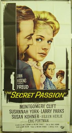 Freud: The Secret Passion - Theatrical poster
