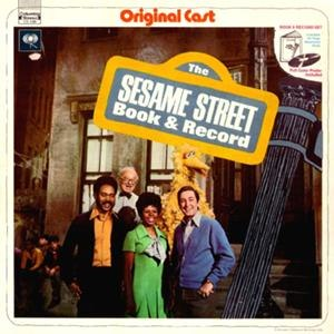 Music of Sesame Street - Cover art of Sesame Street Book and Record (1970), the first album of Sesame Street music