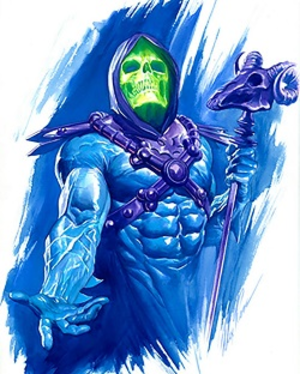 Skeletor - Art by Alex Ross