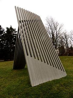 <i>Sky Fence</i> sculpture by Linda Howard