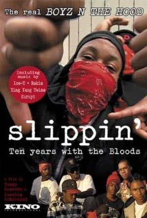 Slippin': Ten Years with the Bloods - Image: Slippin, ten years with the bloods, movie poster