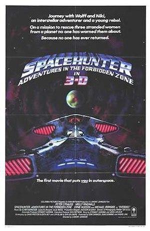Spacehunter: Adventures in the Forbidden Zone - Original film poster