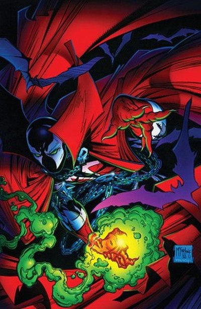 Picture of a book: Spawn (comics)