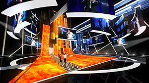 Eurovision Song Contest 2009 - The stage of the contest