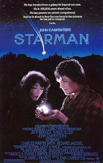 Starman (film) - Theatrical release poster