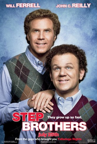 Step Brothers (film) - Theatrical release poster