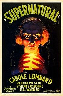 <i>Supernatural</i> (film) 1933 horror film directed by Victor Hugo Halperin