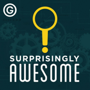 Surprisingly Awesome - Image: Surprisingly Awesome (podcast) album art