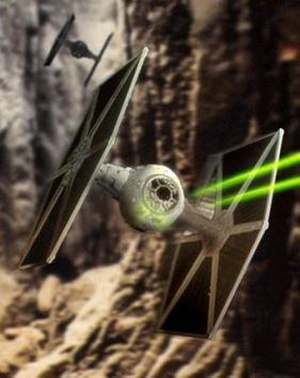 TIE fighter - A pair of TIE fighters