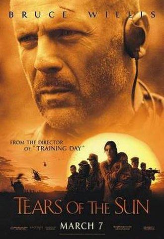 Tears of the Sun - Theatrical release poster