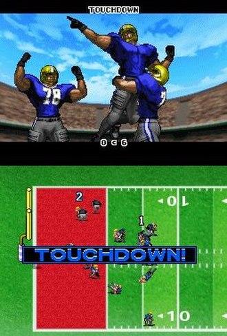 Tecmo Bowl: Kickoff - Image: Tecmobowlkickoff ds