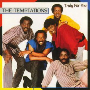 The Temptations in 1984. Pictured L-R: Otis Wi...