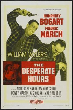 The Desperate Hours (film) - The Desperate Hours film poster