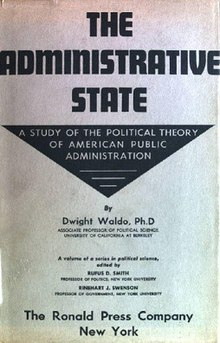 The Current State Of Scientific >> The Administrative State - Wikipedia