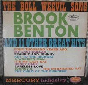 The Boll Weevil Song and 11 Other Great Hits - Image: The Boll Weevil Song and 11 Other Hits