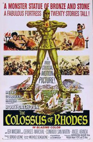 The Colossus of Rhodes (film) - US film poster