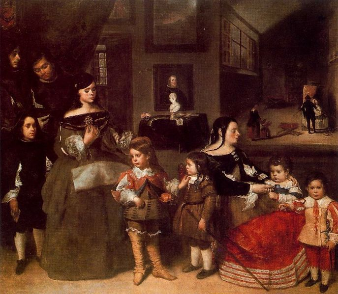 File:The Family of the Artist by Juan Bautista Matinez del Mazo.jpg