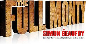 The Full Monty (play) - Official poster of the 2014 West End production