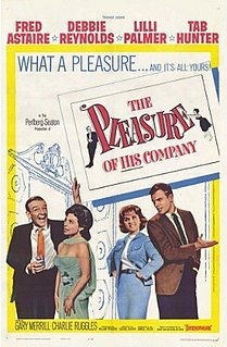 <i>The Pleasure of His Company</i> 1961 comedy film directed by George Seaton