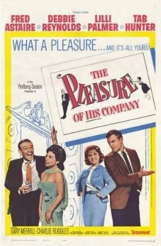 The Pleasure of His Company - Image: The Pleasure of His Company poster