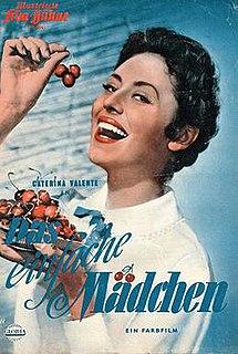 <i>The Simple Girl</i> 1957 film