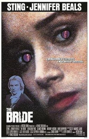 The Bride (1985 film) - Theatrical release poster