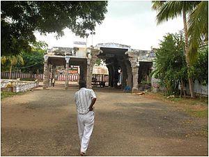 Tiruchuli - Tiruchuli temple north side entrance