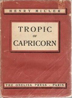 <i>Tropic of Capricorn</i> (novel)