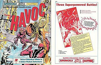 Superworld - Cover of Trouble for HAVOC