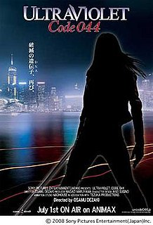 <i>Ultraviolet: Code 044</i> Anime television adaptation of Kurt Wimmers Ultraviolet film