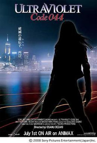 Ultraviolet: Code 044 - Promotional poster for the series Ultraviolet: Code 044