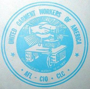 United Garment Workers of America - Image: United Garment Workers of America logo