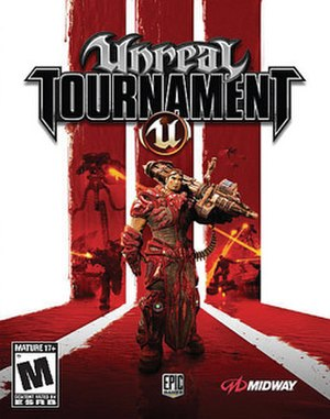 Unreal Tournament 3 - Cover art