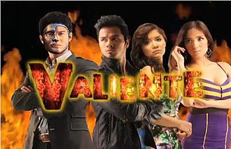 Valiente (2012 TV series) - Valiente's official poster on its 2nd chapter.
