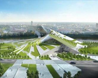 Vilnius Guggenheim Hermitage Museum - Design submitted by Daniel Libeskind